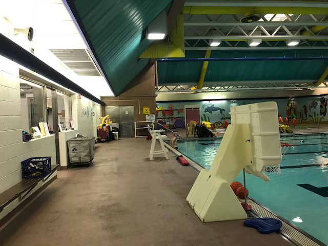 West Central School Pool Area