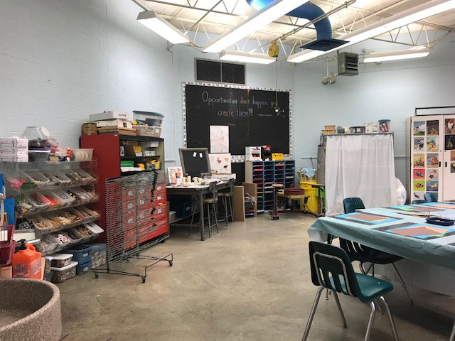 Arts and craft area
