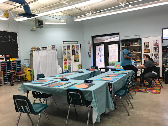Art Room Craft area