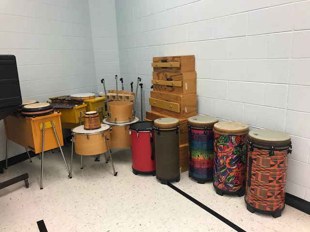 Sensory room musical instruments