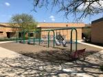West Central School Courtyard Swings